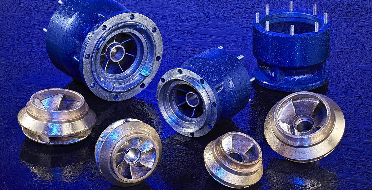 Döküm Dalgıç Pompa - Cast Iron Submersible Pumps
