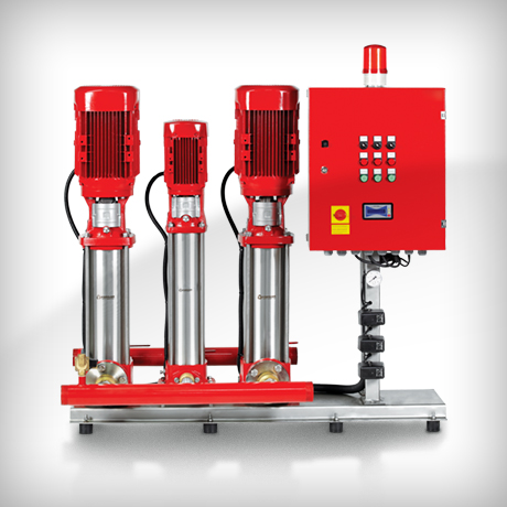 Vertical Multistage In-Line Fire Fighting Pumps