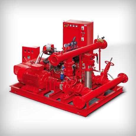 Yangınla Mücadele Pompa Sistemleri