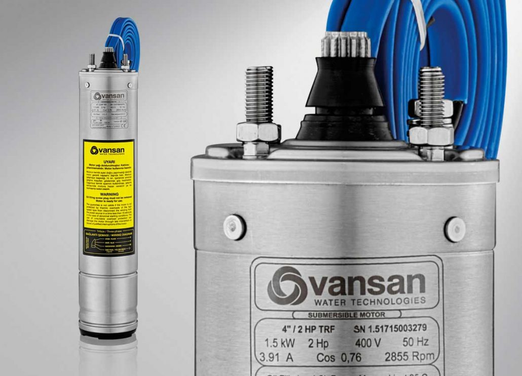 4 Quot Submersible Motors Vansan Water Technologies